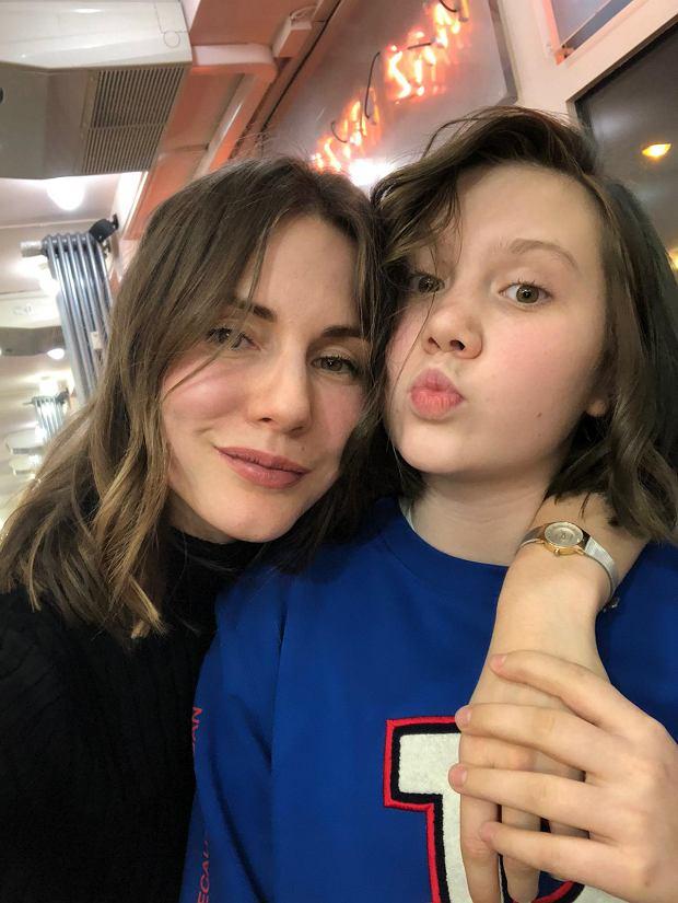 Liza z córką