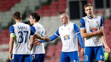 Benfica - Lech Poznań 4:0 Tomasz Dejewski oraz Wasyl Kraweć