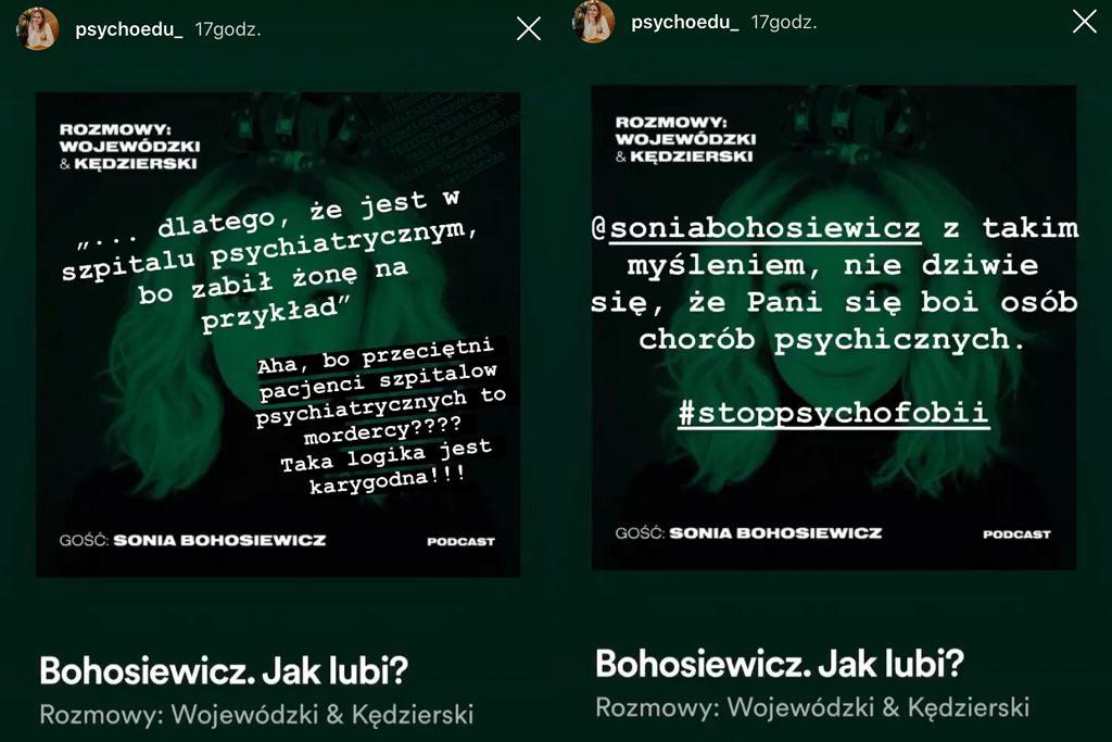 Anna Cyklińska o słowach Sonii Bohosiewicz