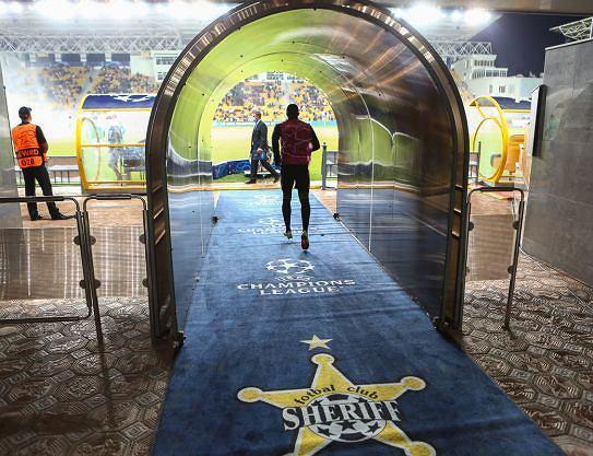 Sheriff Tyraspol przed meczem Ligi Mistrzów