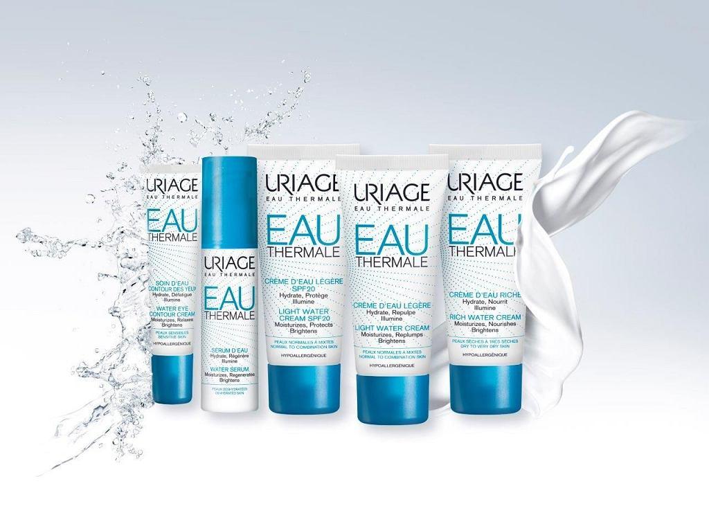 EAU THERMALE - nowa linia produktów z nawilżającą mocą Wody termalnej Uriage