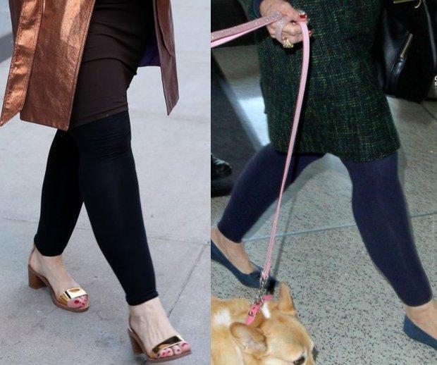 Kirstie Alley w kwietniu i w grudniu 2014 roku.
