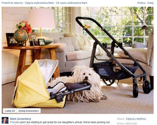 Mark Zuckerberg urlop ojcowski