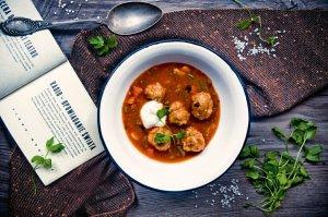 Rumuńska zupa na zakwasie