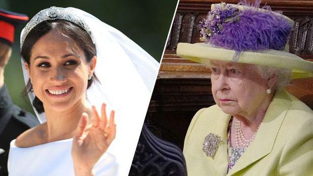 Meghan Markle, królowa Elżbieta