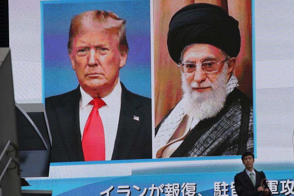 Donald Trump i Ali Chamenei