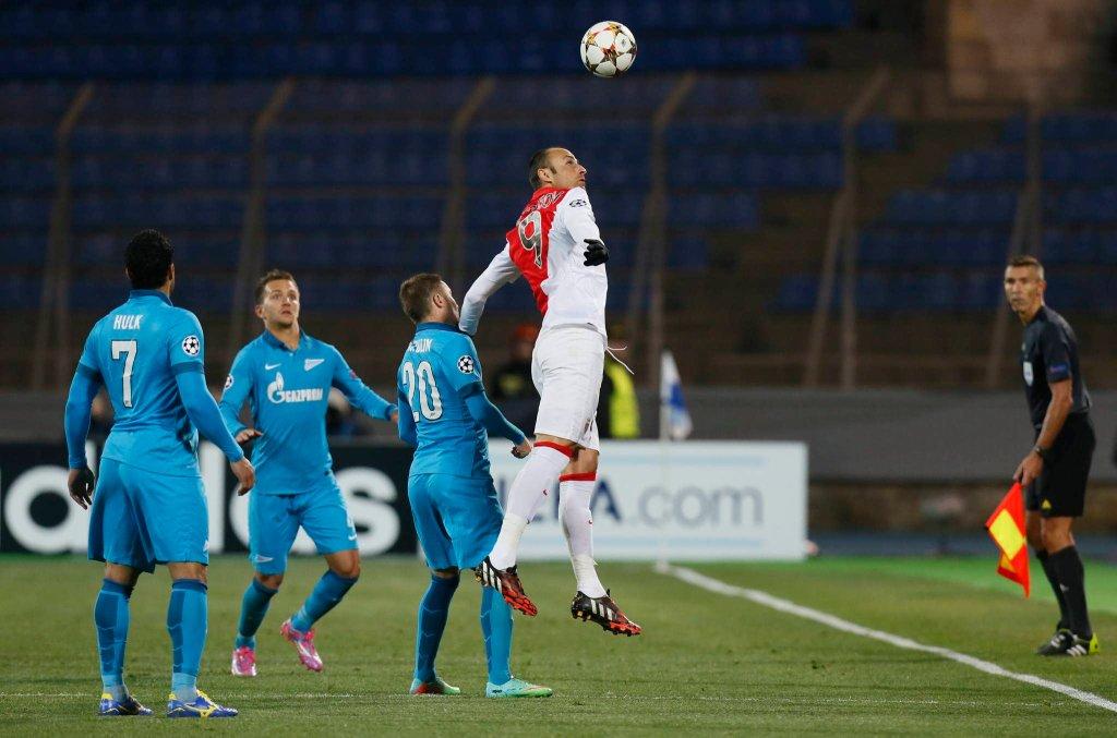 Liga Mistrzów. Zenit - Monaco