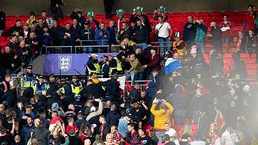 Brytyjskie media grzmią. Przerażające sceny na Wembley.