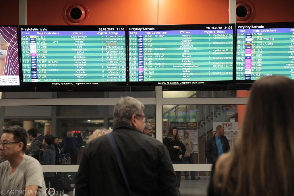 Na tych trasach najczęściej odwoływane są loty z Polski