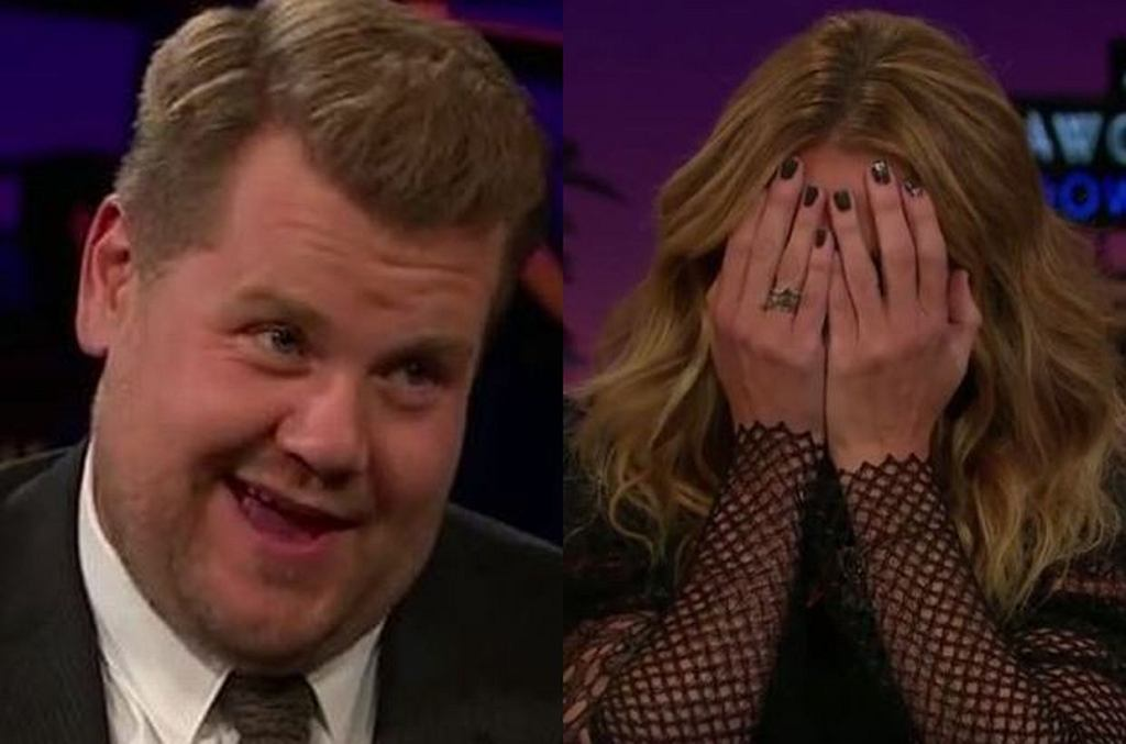 James Corden i Julia Roberts