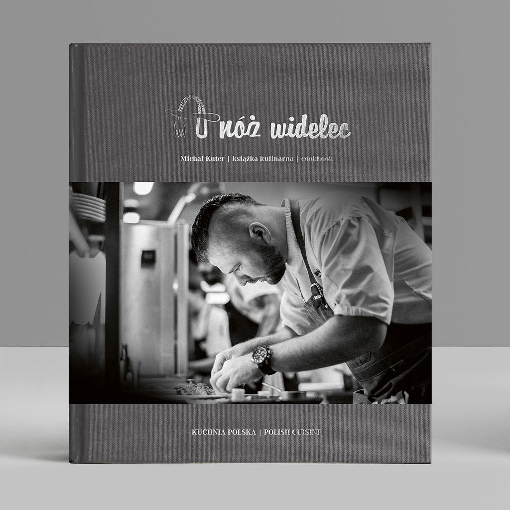 Książkę 'A nóż widelec' można kupić wrestauracji