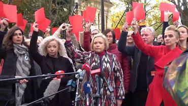 Konferencja prasowa Lewicy w rocznicę orzeczenia TK ws. aborcji