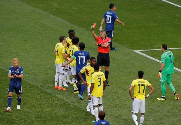 Mecz Kolumbia - Japonia