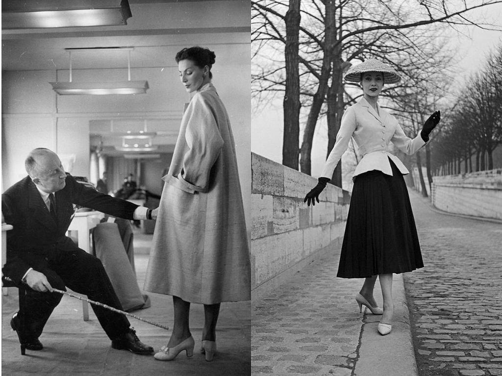 Dior 'New Look' Haute Couture wiosna-lato 1947