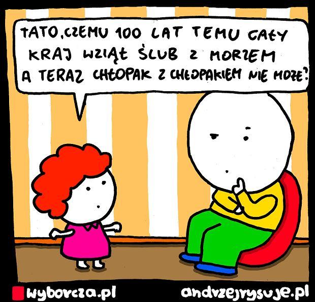 Andrzej Rysuje | ZAŚLUBINY - Andrzej Rysuje | ZAŚLUBINY -