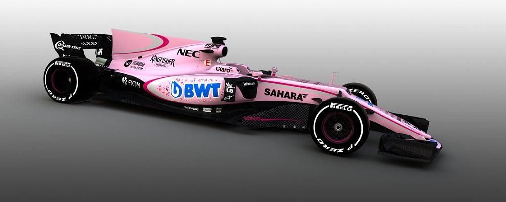 Sahara Force India w najnowszym malowaniu
