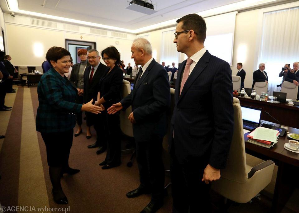 Posiedzenie rządu 10.10.2017