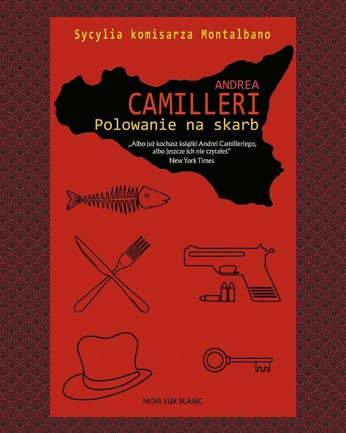 Książka 'Polowanie na skarb' autorstwa Andrei Camilleriego