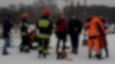 akcja ratunkowa w Parku Szczęśliwickim
