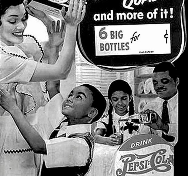 Reklama z lat 40 i 50 skierowana do Afroamerykanów