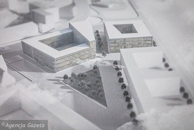 Centrum Usług Publicznych w Opolu - wizualizacja
