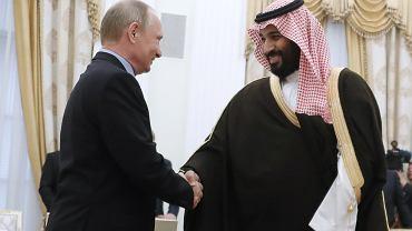 Władimir Putin i Muhammad ibn Salman