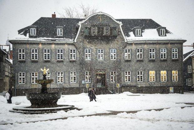 Rezydencja Königspfalz w Goslar, Dolna Saksonia, Niemcy
