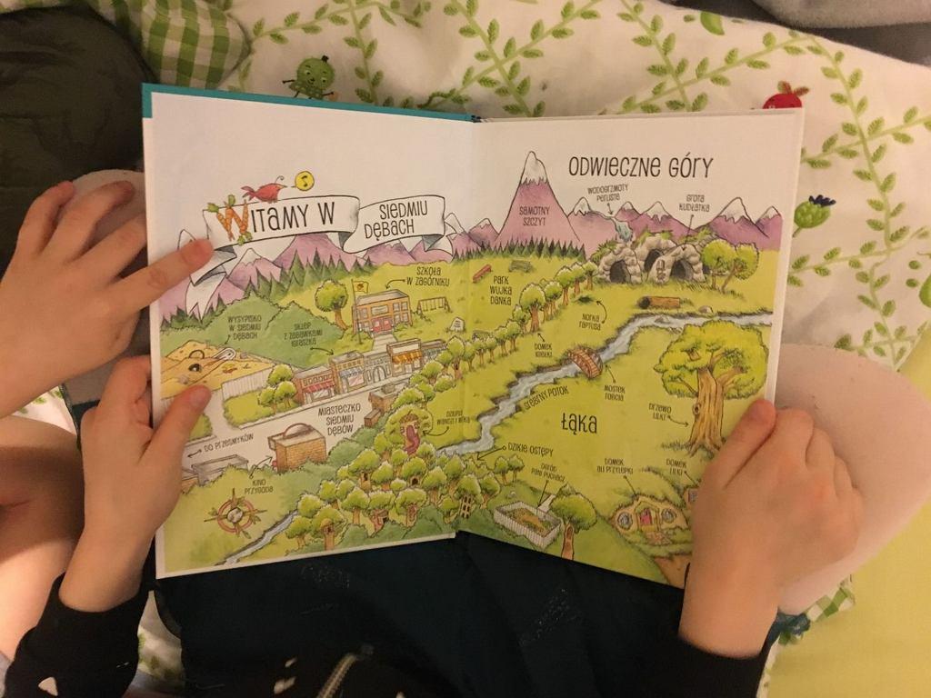 Dzieci, poznając bohaterów krainy Siedmiu Dębów poznają nawyki przydatne na całe życie