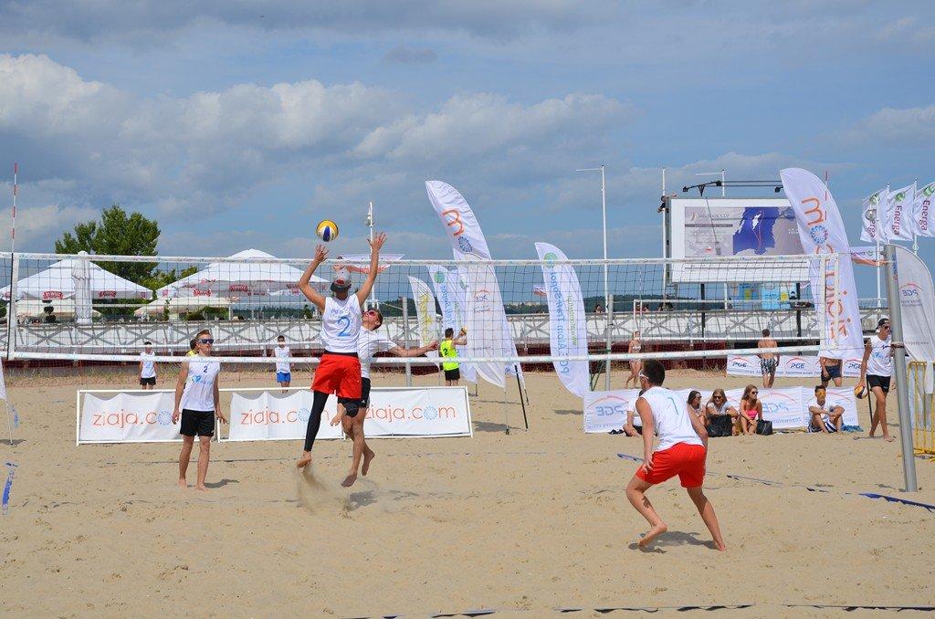 Turniej siatkówki plażowe PGE Cup w Sopocie