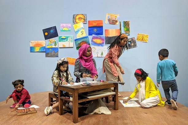 You Teach Me warsztaty performatywne dla dzieci z artystką Nehą Choksi / materiały promocyjne