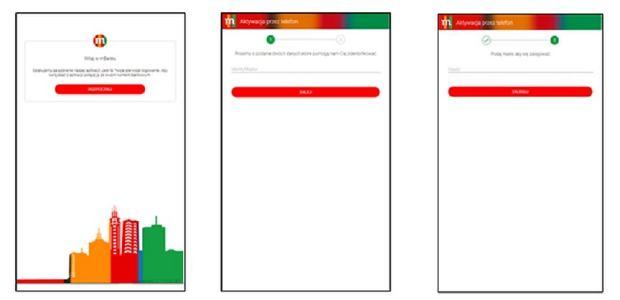 Fałszywa nakładka udająca aplikację mBanku