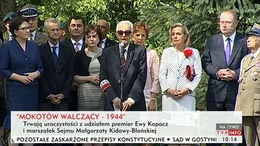 Uroczystości na Mokotowie w 71. rocznicę wybuchu Powstania Warszawskiego
