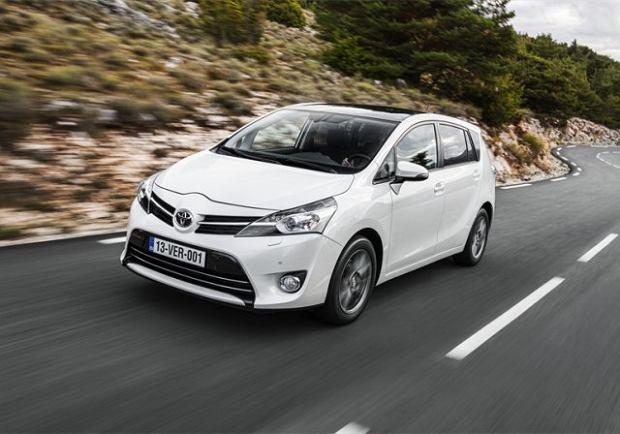 Toyota Verso - test   Pierwsza jazda