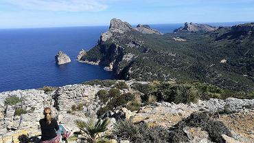 Punkt widokowy na Majorce, który Aneta z Damianem znaleźli przy pomocy geocachingu