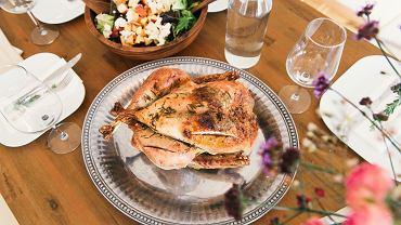 Kurczak ugotowany biciem