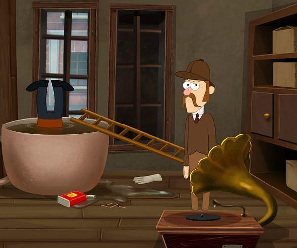 Sherlock Holmes i tajemnicze zabójstwo w herbaciarni