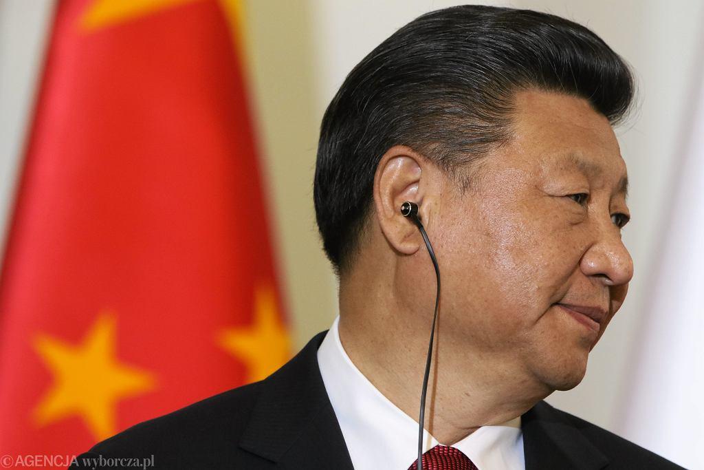 Przewodniczacy Chińskiej Republiki Ludowej w Polsce Xi Jinping