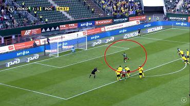 Bramka Grzegorza Krychowiaka w meczu Lokomotiw - Rostów (4:1)