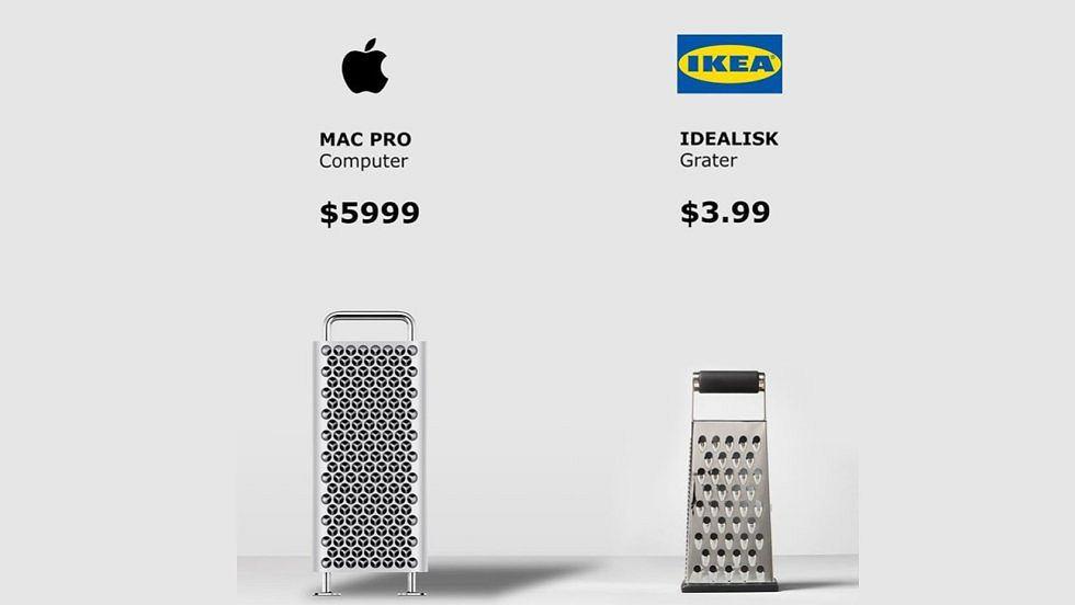 Nowa reklama Ikea żartuje sobie wprost z nowego komputera Mac Pro