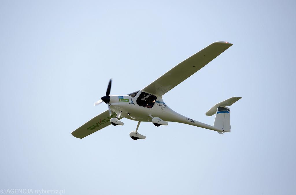 Pierwszy lot samolotu elektrycznego w Polsce zakończony sukcesem