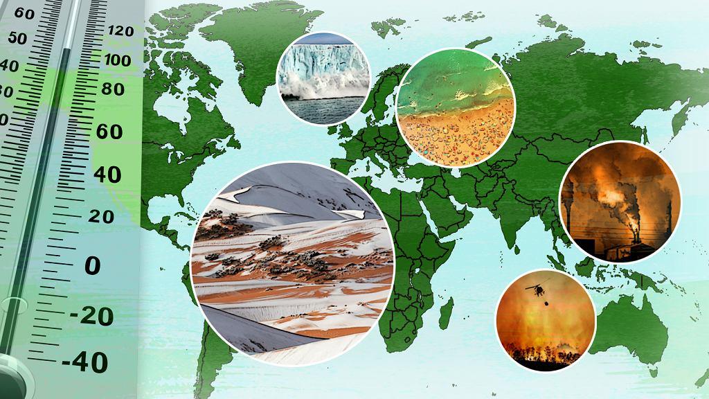 Anomalie pogodowe z powodu globalnego ocieplenia występują częściej lub z silniejszą siłą rażenia
