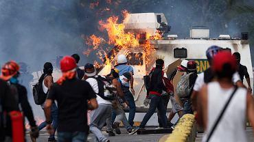 Protesty antyrządowe w Wenezueli w dniach 1 -3 maja