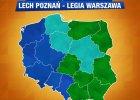 Lech Poznań - Legia Warszawa. Ciekawostka: Mazowsze nie wierzy w wygraną Legii
