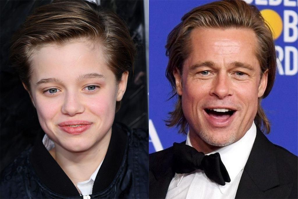 Shiloh Jolie-Pitt Brad Pitt