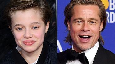 Brad Pitt świętował urodziny córki Shiloh ze wszystkimi swoimi dziećmi. Podarował jej niezwykły prezent