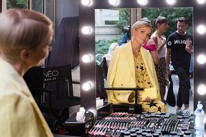 Katarzyna Zielińska na premierze marki NEO Make up