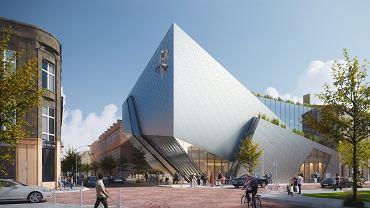Wizualizacja Muzeum Architektury w Łodzi