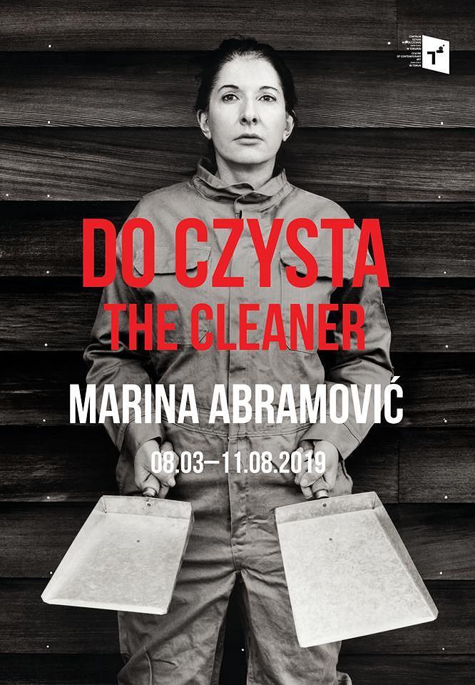 Marina Abramović, The Cleaner / materiały promocyjne