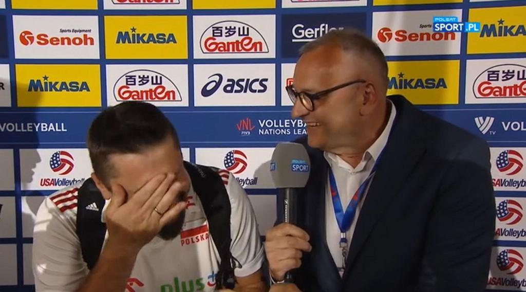 Jakub Bednaruk po zwycięstwie z Brazylią