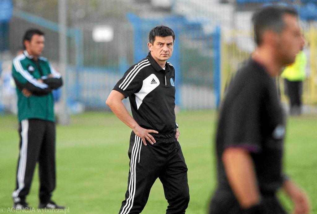 Trener Tomasz Fornalik